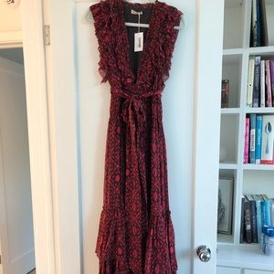 Ulla Johnson Adelina Maxi Gown Dress